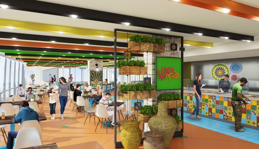 El Loco Dining interior