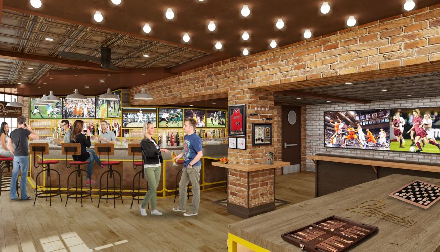 The Playmakers Bar interior
