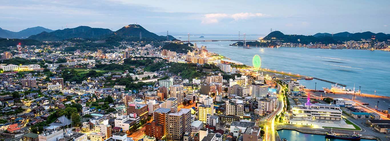 海洋量子号 上海 - 下关港 - 京都(舞鹤) - 新潟 - 北海道(函馆) - 上海
