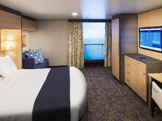 高区虚拟/虚拟阳台双人内舱房2U/4U